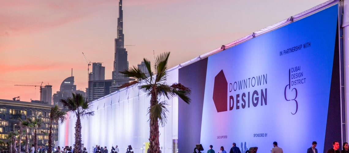 Downtown Design's upcoming edition will be taking place 10-13 November 2020. Presented at the Dubai Design District